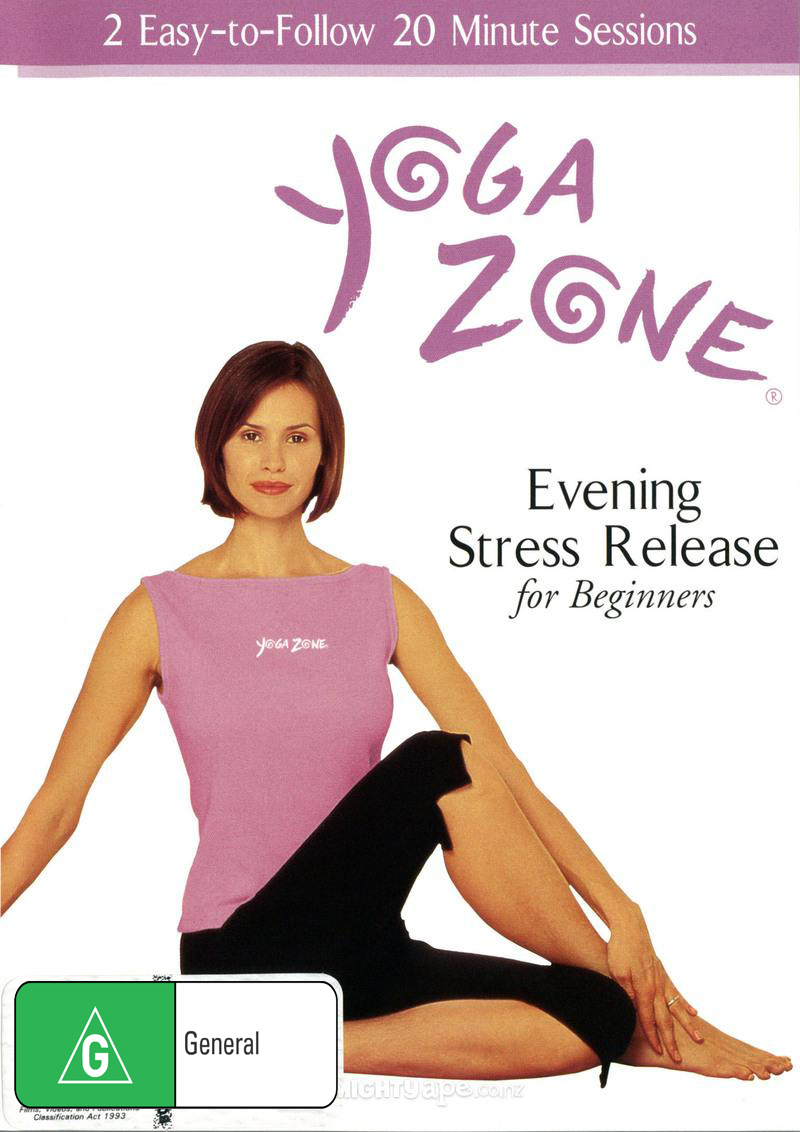 Yoga Zone Evening Stress Release on DVD image