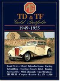 M. G. TD and TF Gold Portfolio 1949-55 image