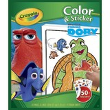 Crayola: Finding Dory - Colour N' Sticker Book