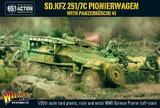 Sd.Kfz 251/7C Pionierwagen with panzerbuchse 41