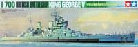 Tamiya 1/700 King George British Battleship - Model Kit image