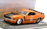 Jada: 1/24 Ford Mustang Boss 429 Hardtop (1970) - Diecast Model (Orange)