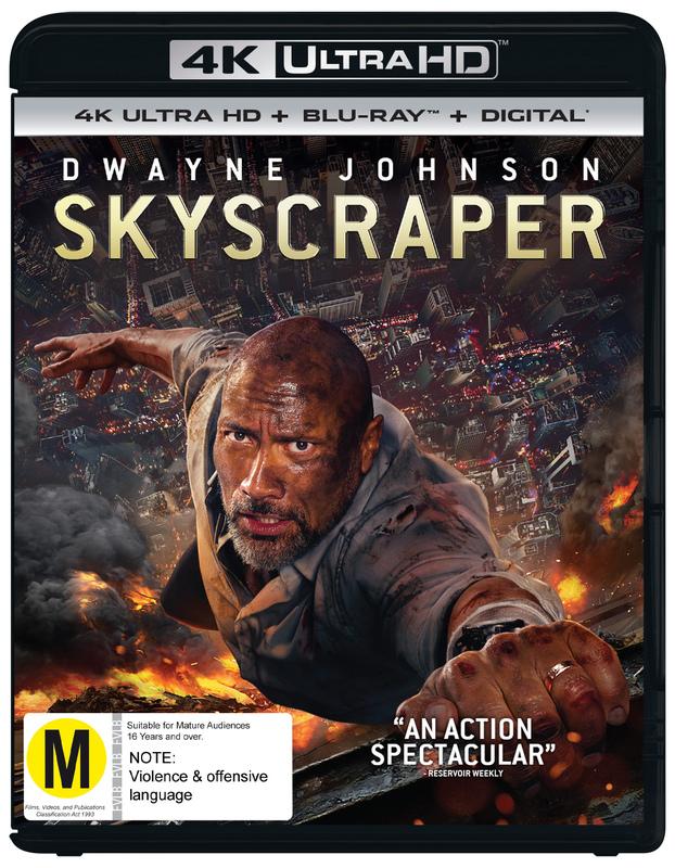 Skyscraper on UHD Blu-ray