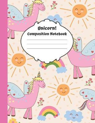 Unicorn Composition Notebook by Spiffy Design