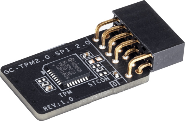Gigabyte TPM 2.0 Module with SPI interface