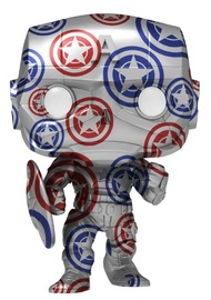 Avengers: Stark Tech Captain America (Stark Tech) - Pop! Vinyl Figure + Protector