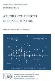 Abundance Effects in Classification