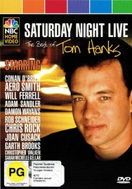 Saturday Night Live: The Best Of Tom Hanks on DVD