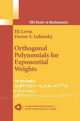 Orthogonal Polynomials for Exponential Weights by Eli Levin image