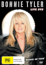 Bonnie Tyler - Live DVD: Bonnie On Tour on DVD image