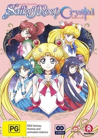 Sailor Moon: Crystal - Set 3 (Eps 27-39) on DVD