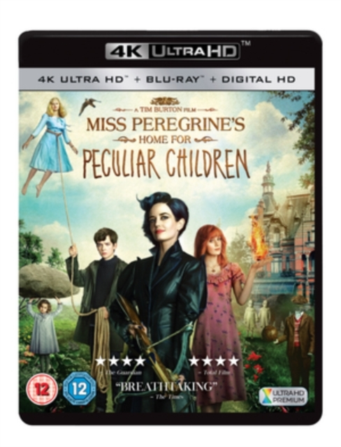 Miss Peregrine's Home for Peculiar Children on UHD Blu-ray image