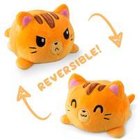 TeeTurtle: Reversible Mini Plush - Cat (Orange Tabby)
