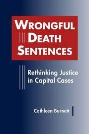 Wrongful Death Sentences by Cathleen Burnett image