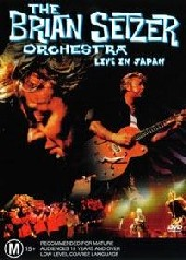 Brian Setzer Orchestra - Live In Japan on DVD