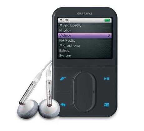 CREATIVE LABS Creative Zen Vision: M 30Gb Black MP3 Player (minus travel adaptor)