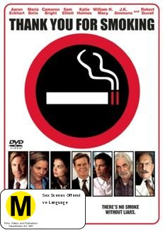 Thank You For Smoking on DVD