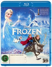 Frozen 3D on Blu-ray, 3D Blu-ray