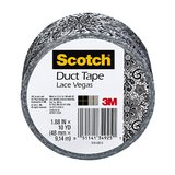 Scotch Lace Duct Tape 48mm x 9.14m Pkt1