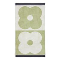 Orla Kiely Spot Flower Domino Face Towel - Pistachio