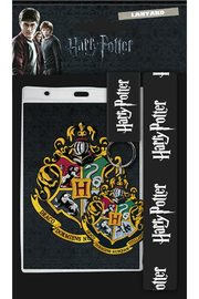 Harry Potter: Lanyard with Rubber Keychain - Hogwarts
