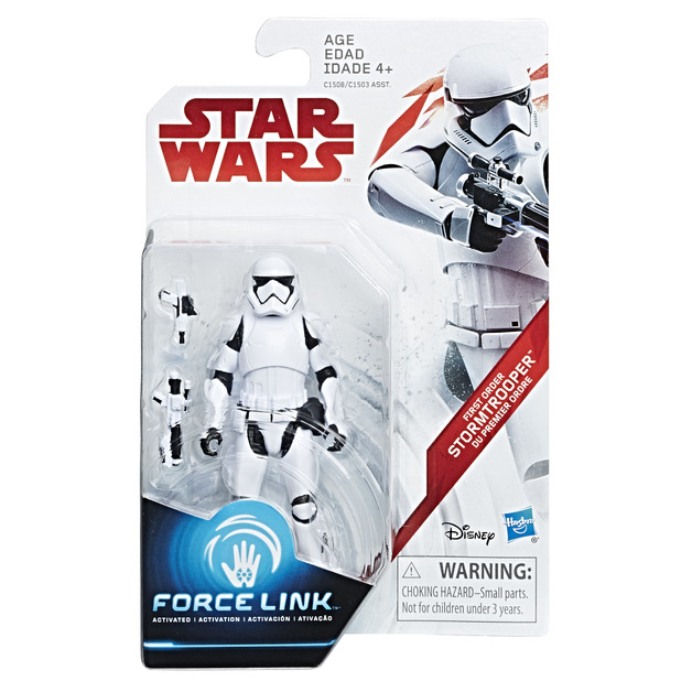 Star Wars: Force Link Figure - First Order Stormtrooper