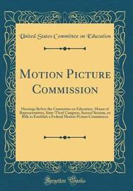 Motion Picture Commission by United States Committee on Education image