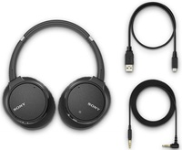 Sony WH-CH700N Noise Cancelling Wireless Headphone - Black image