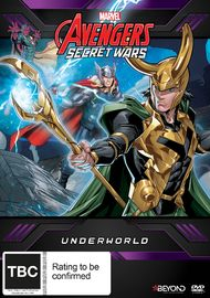 Avengers Secret Wars: Underworld on DVD