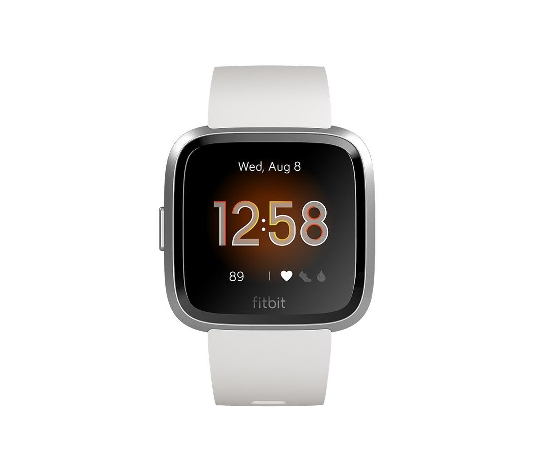 Fitbit Versa Lite - White/Silver Aluminium image