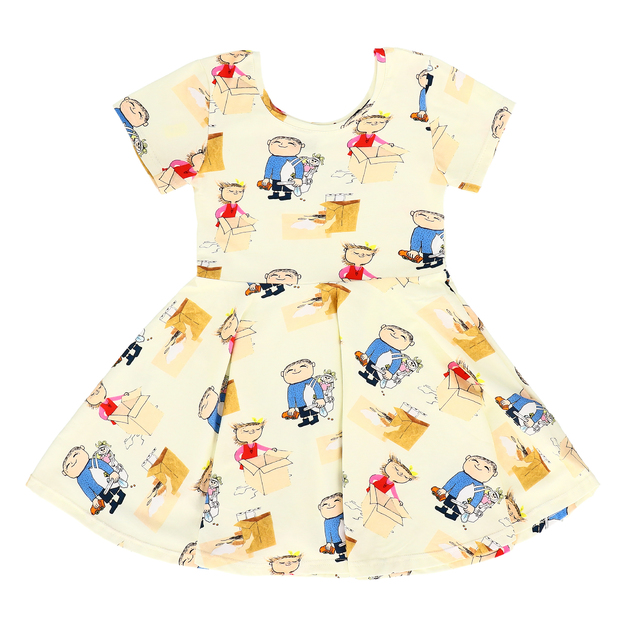Raspberry Republic: Dress Time to Play (Size 7)
