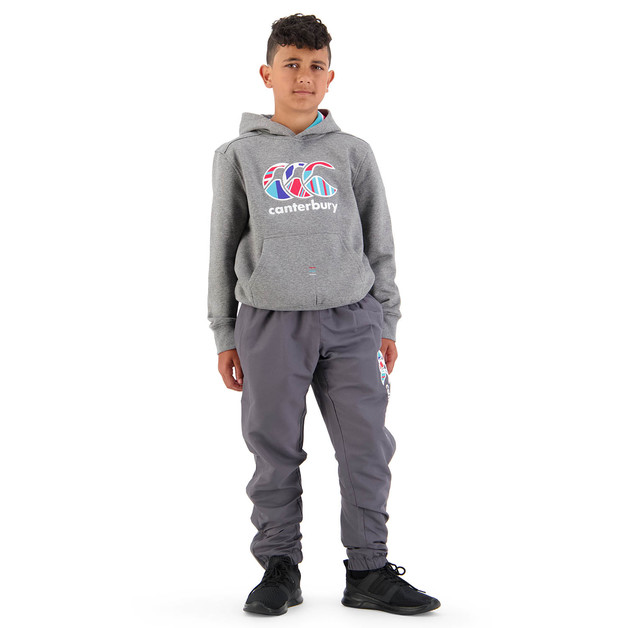 Canterbury: Boys Uglies Tapered Cuff Stadium Pant - Blackened Pearl (Size 14)