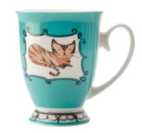 Maxwell & Williams: Purrfect Mug - Teal (290ml)