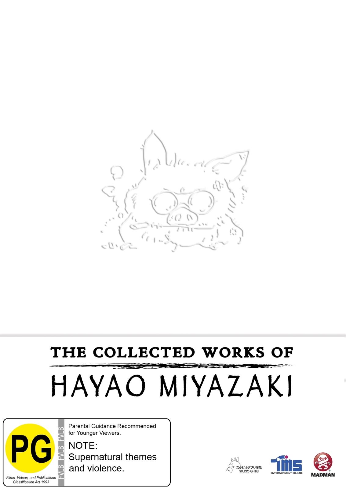 The Collected Works of Hayao Miyazaki Box Set on DVD image