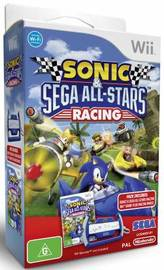 Sonic & SEGA All-Stars Racing plus Wheel for Nintendo Wii