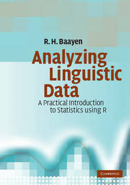 Analyzing Linguistic Data by R.H. Baayen image