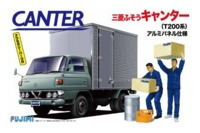 Fujimi: 1/32 Mitsubishi Fuso Canter (With Beer Case & Worker Set) - Model Kit