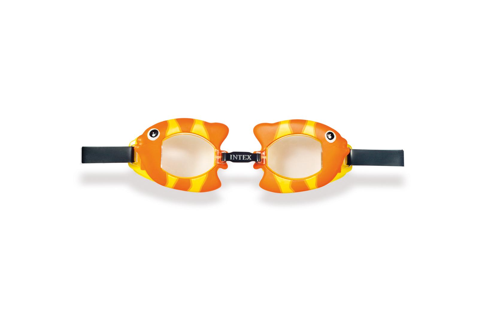 Intex: Fun Goggles - Orange Fish image
