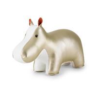 Zuny: Bookend Classic Hippo Gold