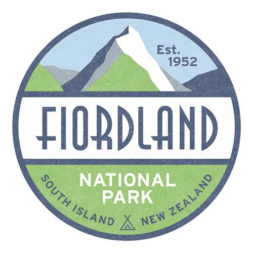 100 Percent NZ - National Parks Ceramic Coaster - Fiordland