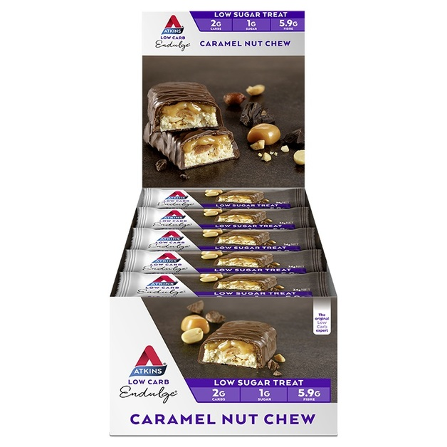 Atkins Endulge Bars - Caramel Nut Chew (Box of 15)