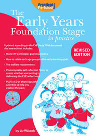 The Early Years Foundation Stage in Practice by Liz Wilcock image