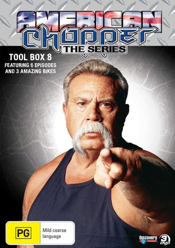 American Chopper - Tool Box 8 on DVD
