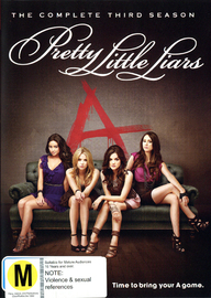 Pretty Little Liars - The Complete Third Season on DVD