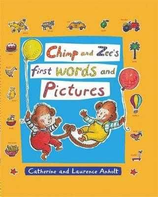 Chimp and Zee's First Words and Pictures by Laurence Anholt image