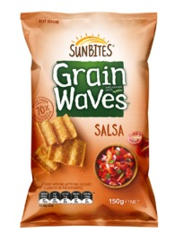 Sunbites Grain Waves - Salsa (150g)