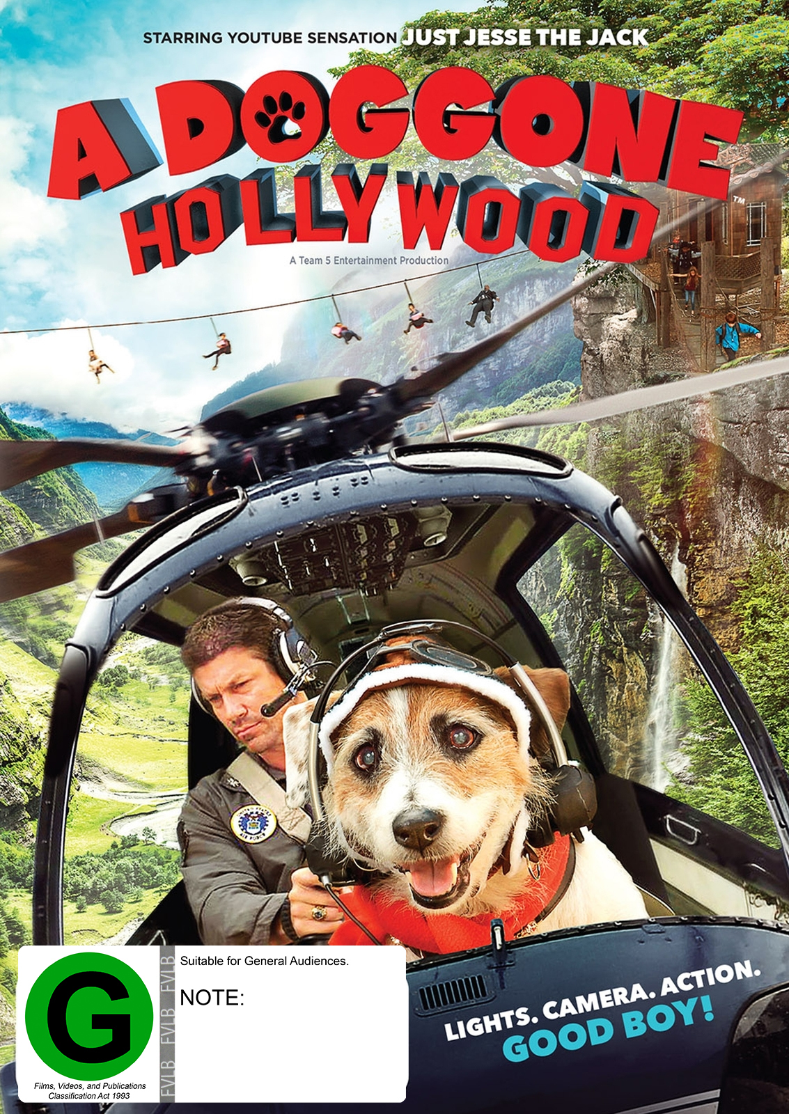 A Doggone Hollywood on DVD image