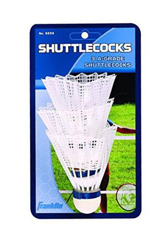 Franklin Nylon Shuttlecocks (3 Pack)