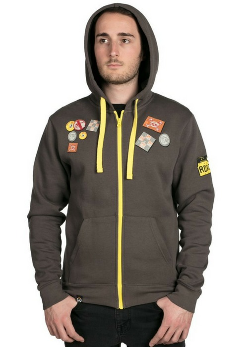 Overwatch Ultimate Roadhog Zip-Up Hoodie (X-Large)