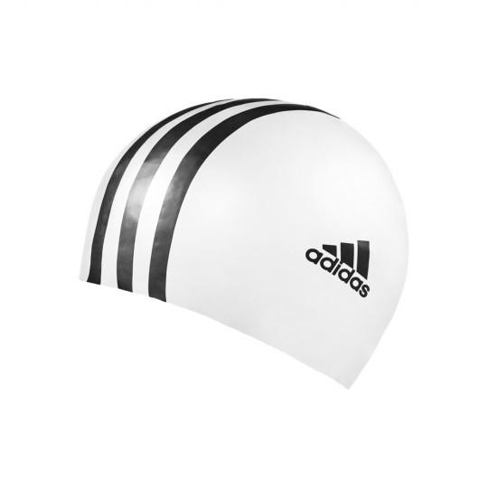 Adidas Swimcap 3S/Logo White/Black